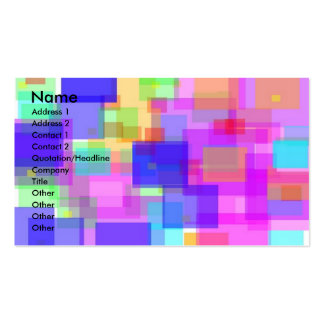 Cubes 2 Double-Sided standard business cards (Pack of 100)
