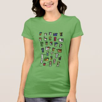 Cubes - Birds of Australia T-Shirt