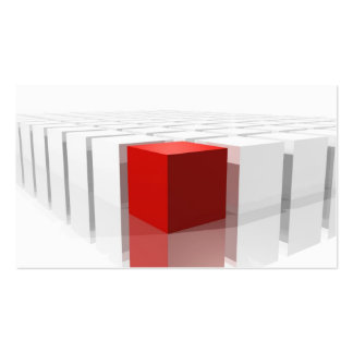 Cubes Concept of difference Tarjeta Personal