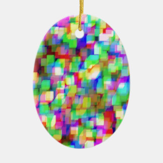 Cubes Customizable Christmas Tree Ornament
