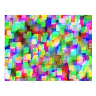 Cubes Customizable Postcard