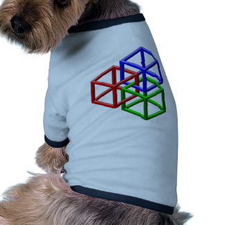 Cubes Impossible Geometry Optical Illusion Pet Clothes
