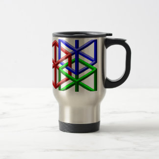 Cubes Impossible Geometry Optical Illusion Coffee Mug