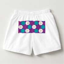 Cubes in honeycomb pattern boxers