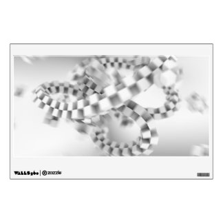Cubes in Motion Wall Decal