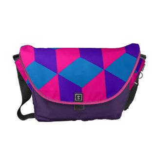 Cubes Messenger Bag