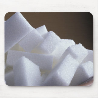 Cubes of white sugar For use in USA only.) Mouse Pad