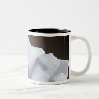 Cubes of white sugar For use in USA only.) Two-Tone Coffee Mug