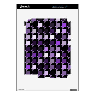 cubes-purple-04 skin for iPad 2