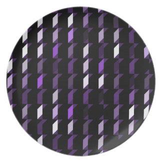 cubes-purple-05 dinner plates