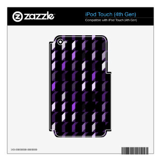 cubes-purple-05 iPod touch 4G skins