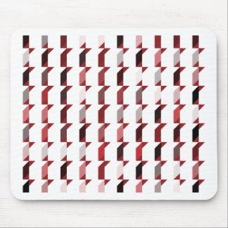 cubes-red-02 alfombrilla de ratón