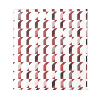 cubes-red-02 note pad