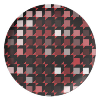 cubes-red-04 party plate