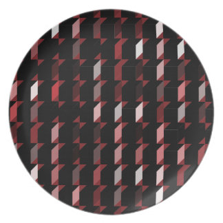 cubes-red-05 plate
