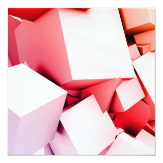 Cubes Square Background in 3d as a Abstract Card