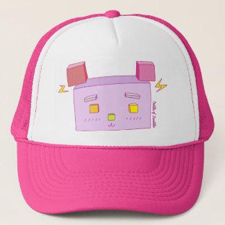 Cubic Bear Doodle Art Hat