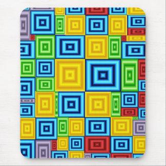 Cubic Colors Art mousepad