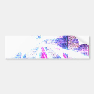 Cubic Flare Bumper Sticker