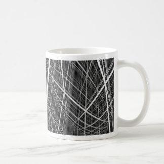cubic lattice coffee mug