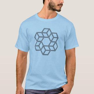 Cubic Vortex (Light Shirts) T-Shirt