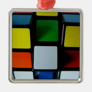 cubicado ornamento para arbol de navidad