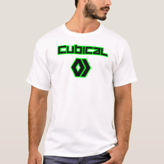 Cubical - White T-Shirt