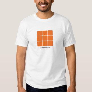 Cubicando la camisa semanal del logotipo (luz)