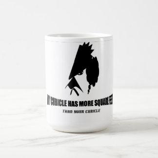Cubicle More Square Feet Coffee Mug