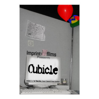 Cubicle poster