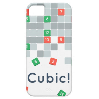 ¡Cúbico! iPhone del juego del IOS/caso del iPad iPhone 5 Carcasas