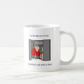 Cubículo (femenino) tazas de café