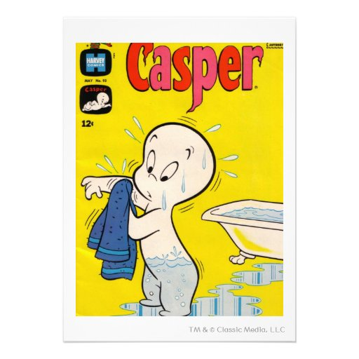 Cubierta 10 de Casper Invitacion Personalizada