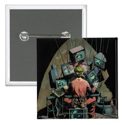 Cubierta #14 de Batman vol. 2 Pin Cuadrado