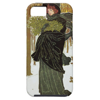 Cubierta 1895 de Nouveau Scribners del arte del iPhone 5 Funda