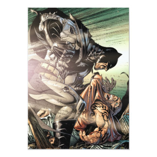"""Cubierta #18 de Batman vol. 2 Invitación 5"""" X 7"""""""