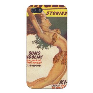 Cubierta 1947 de la pulpa de las historias de la s iPhone 5 protectores