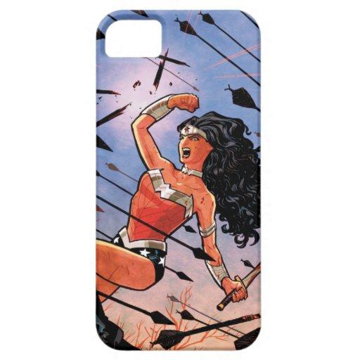 Cubierta #1 de la Mujer Maravilla iPhone 5 Carcasas