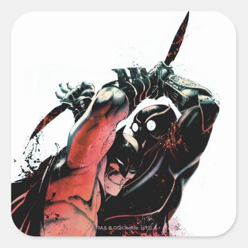 Cubierta #3 de Batman vol. 2 Calcomanía Cuadradas Personalizadas