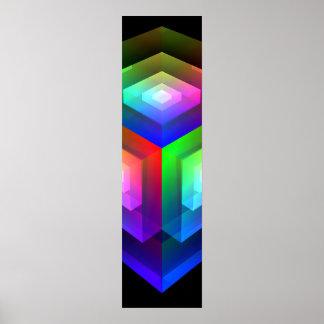 cubierta 4 del color poster