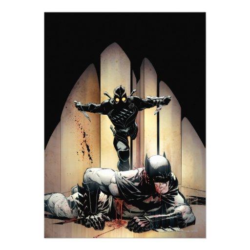 Cubierta #5 de Batman vol. 2 Invitaciones Personales