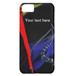 Cubierta abstracta adaptable del iphone 5 funda para iPhone 5C