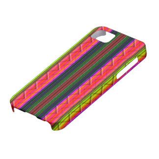 Cubierta abstracta colorida del diseño iPhone5 iPhone 5 Case-Mate Carcasas