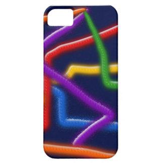 cubierta abstracta del iphone 5 de los tubos de funda para iPhone SE/5/5s