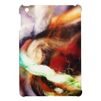 Cubierta acogedora del iPad de la diversión lanosa