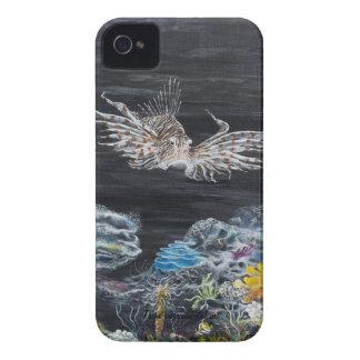 Cubierta acuática del tema para el teléfono Case-Mate iPhone 4 protector