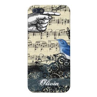 Cubierta afortunada del iPhone del Bluebird de la  iPhone 5 Carcasa