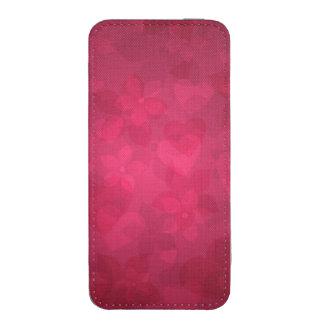 cubierta agradable rosada funda acolchada para iPhone