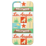 cubierta americana del caso de la ciudad de Los iPhone 5 Cárcasas