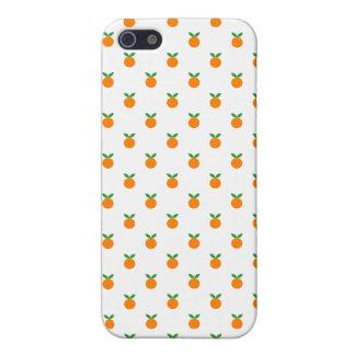 Cubierta anaranjada del caso del iPhone 5 del mode iPhone 5 Carcasas